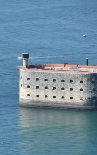 Fort Boyard vanuit de lucht