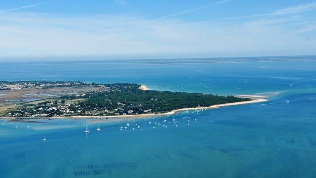 Luchtfoto van het île de Ré © FDHPA 17
