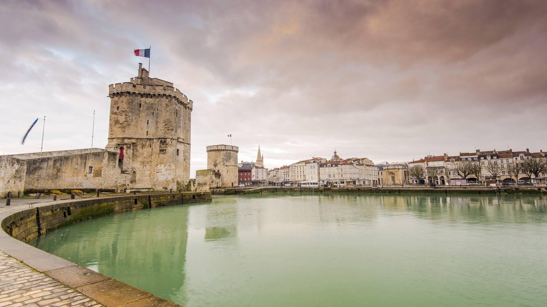 Vue du Vieux-Port de La Rochelle - ©Shutterstock