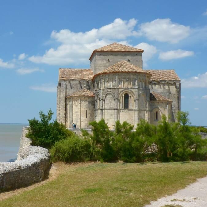 Église Sainte-Radegonde à Talmont-sur-Gironde @FDHPA17