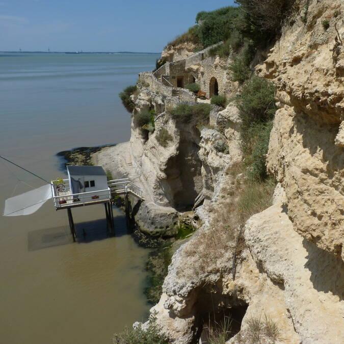 Habitations troglodytes à Meschers-sur-Gironde @FDHPA 17