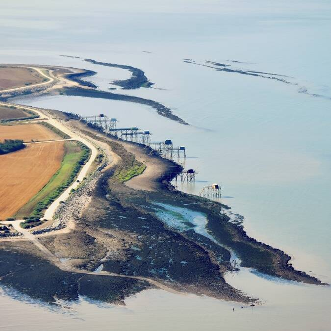 Luchtfoto van île Madame - ©FDHPA17